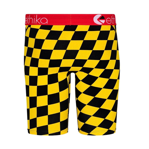 Ethika Off Track Underwear (Black/Yellow)