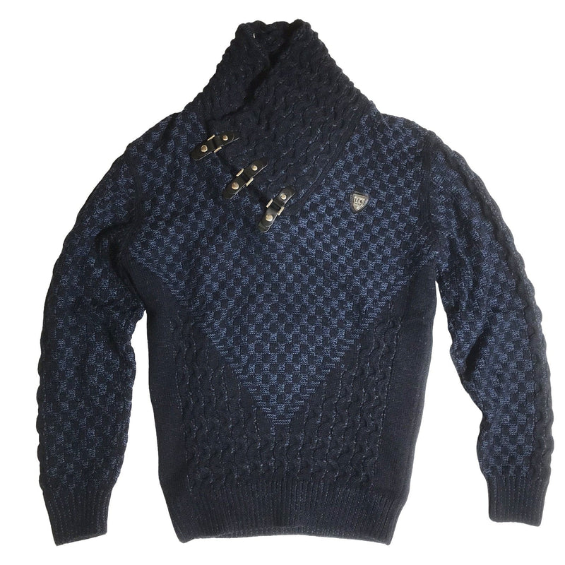 LCR SWEATER - NAVY BLUE