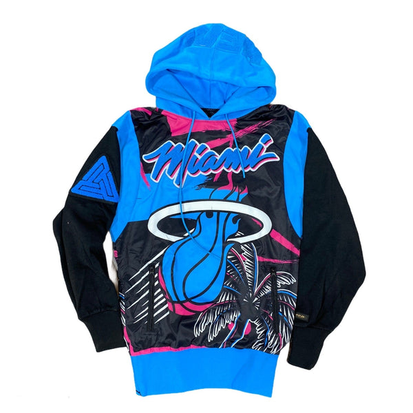 Black Pyramid Miami Heat Vice Logo Hoodie (Multi) Y5162496-MUL