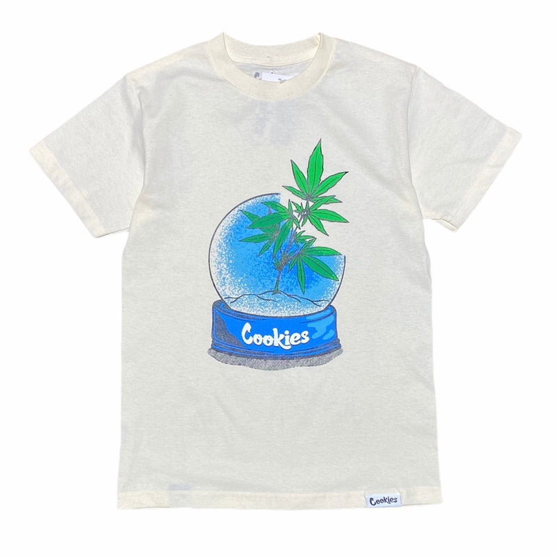 Cookies Snow Globe Tee (Cream) 1546T4362