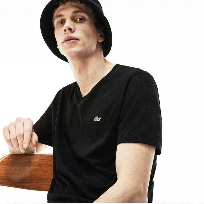 Lacoste Tee (Black) TH6710