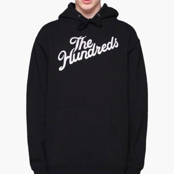 The Hundreds Slant Logo Pullover (Black)