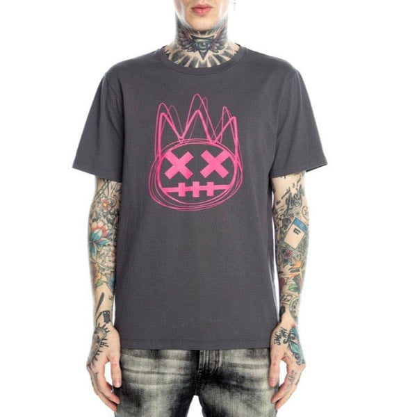 Cult Of Individuality Scribbel T Shirt (Charcoal)