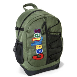 Cookies Smell Proof  Bungee Nylon Back Pack Olive
