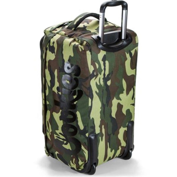 Cookies Trek Roller Travel Bag Green Camo
