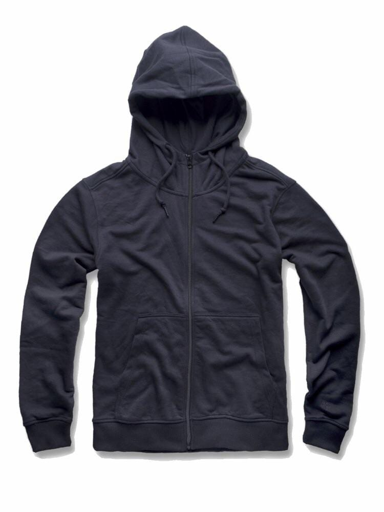 JORDAN CRAIG FRENCH TERRY ZIP UP HOODIE - NAVY