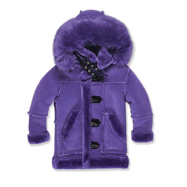 Juniors Jordan Craig Denali  Shearling Jacket (Purple) 91445B