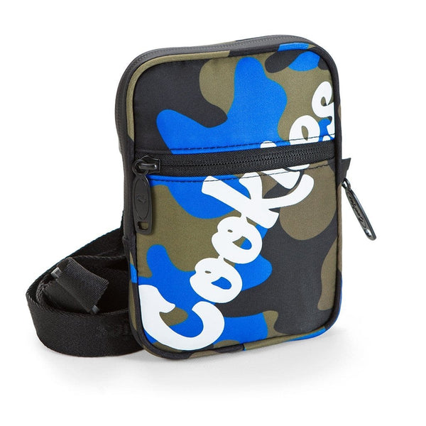 Cookies  Camera Bag Blue Camo
