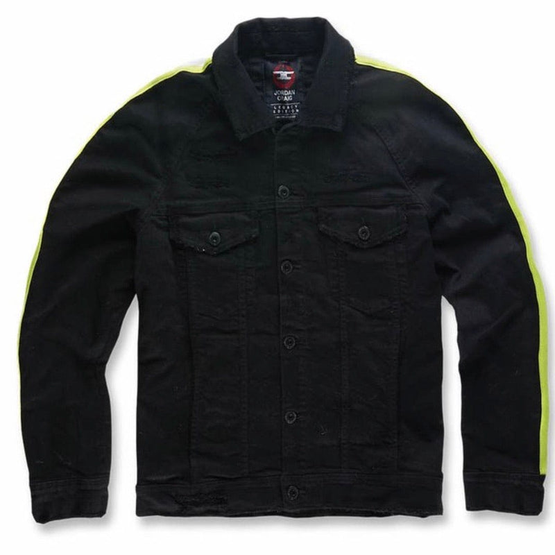 Jordan Craig Grand Prix Jacket Black Volt