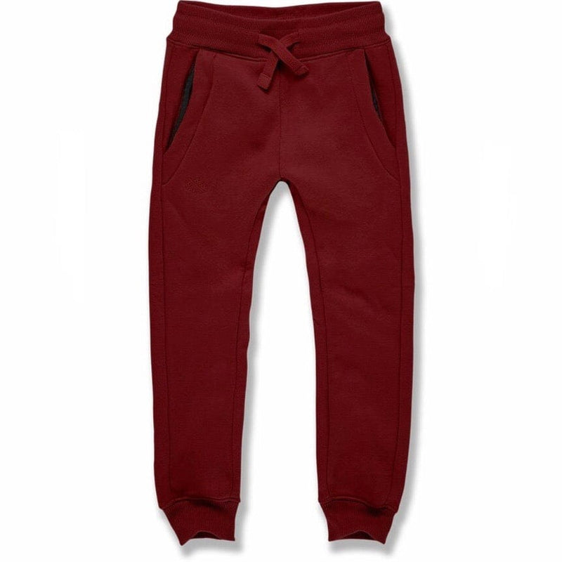 Kids Uptown Jogger Sweatpants (Wine) 8520B
