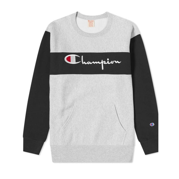 Champion Reverse Weave Sweatshirt (Oxford Gray) CEM049
