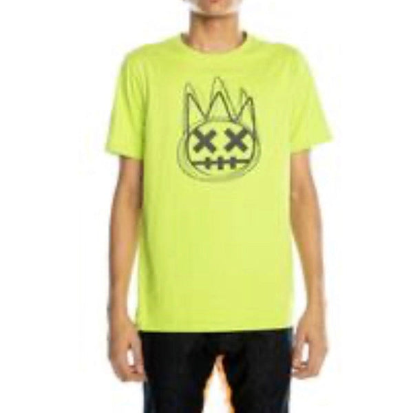 Cult Of Individuality Scribble Crew Neck (Safety Green)