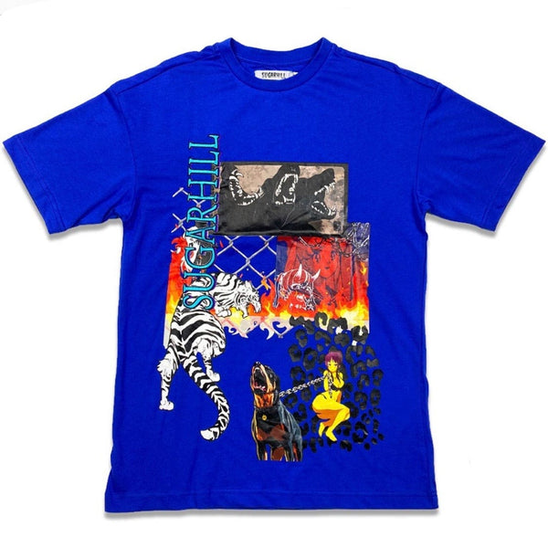Sugarhill Cabana Graphic Tee (Royal) SH-CAB-RS-10