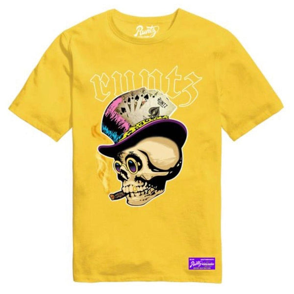 Runtz Skull T Shirt (Yellow)