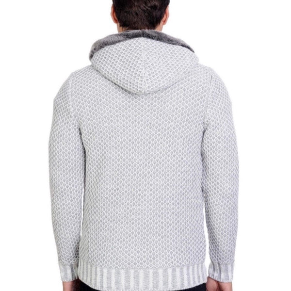 LCR Sweater (Ecru/Grey) 6225