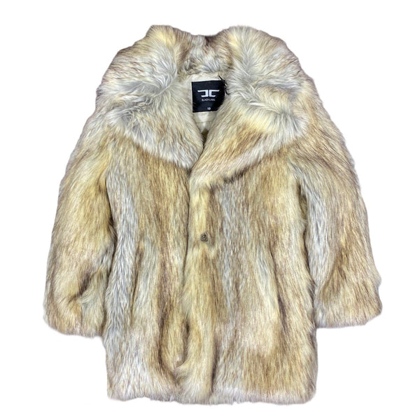 Junior Jordan Craig Faux Fur Coat (Coyote)