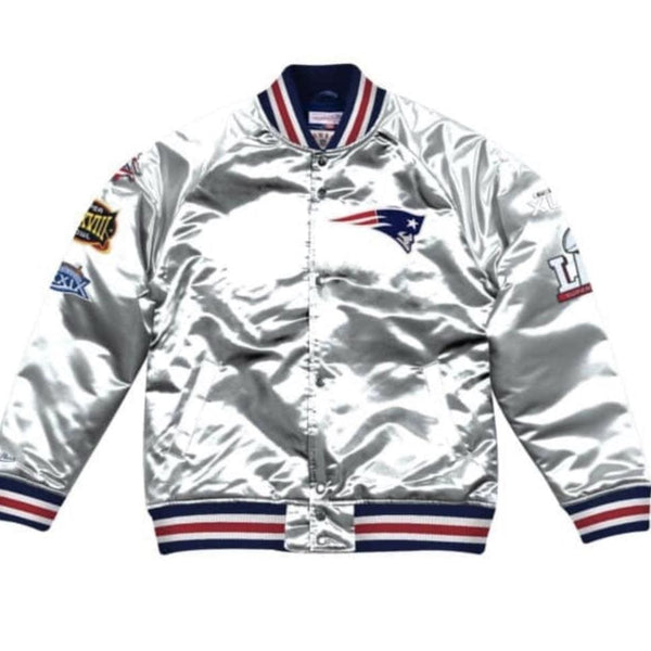 MITCHELL&NESS CHAMPIONSHIP SATIN JACKET  NE