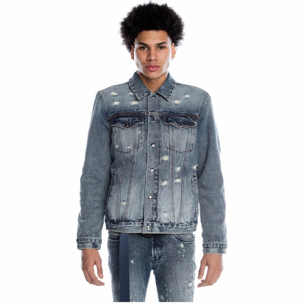 Cult Of Individuality Reversible Type II Denim Jacket (Grit)