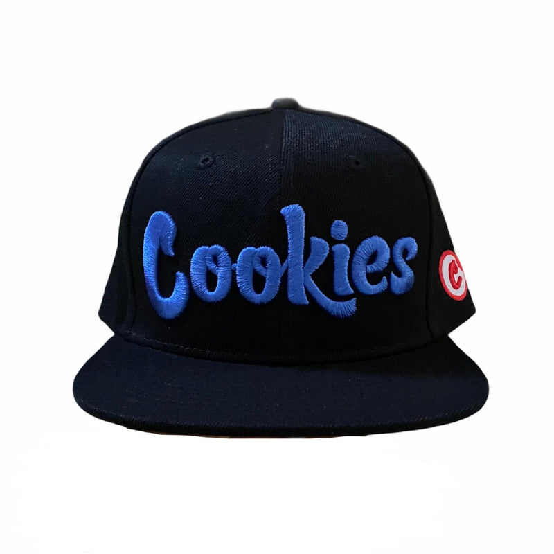 Cookies Glacier Of Ice Twill Snapback (Black/Blue) 1546X4336