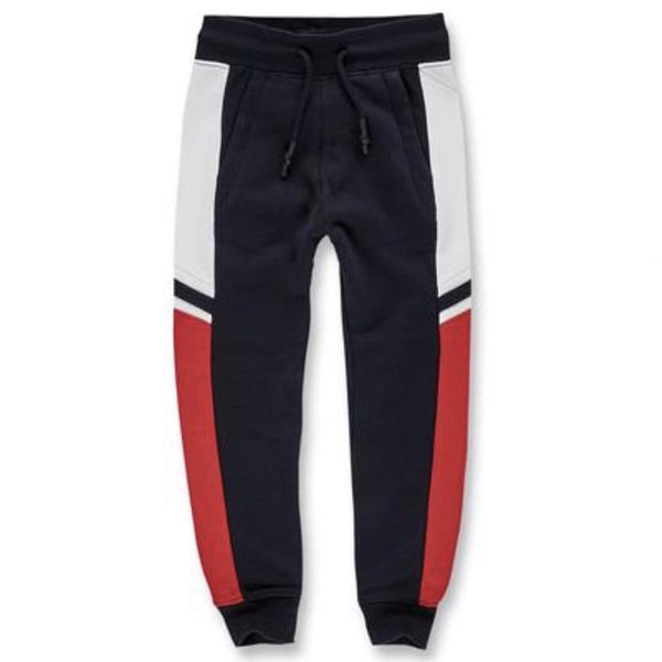 JORDAN CRAIG KIDS JOGGING PANT NAVY/RED