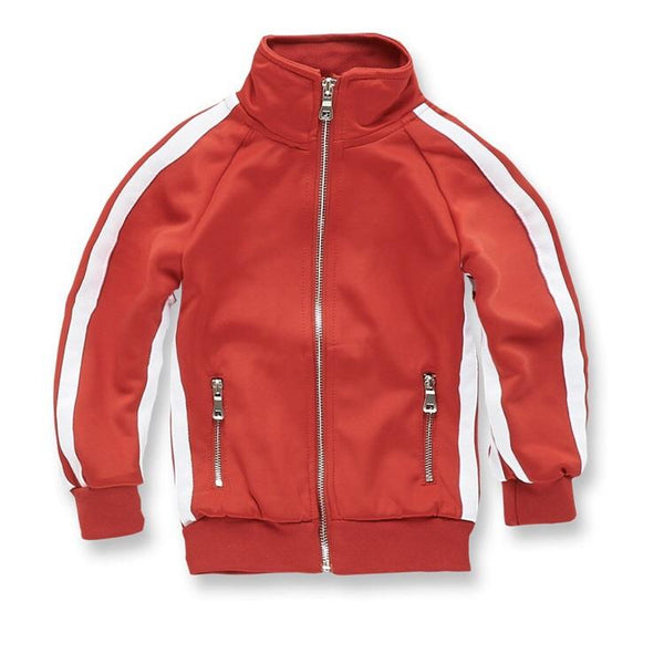 KIDS JORDAN CRAIG OXFORD TRACK TOP - RED - 8333TK