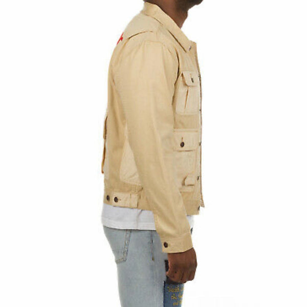 Billionaire Boys Club Freemont Jacket (Almond Bluff) 811-2400