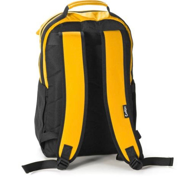 Cookies Parks Utility Sateen Bomber Nylon Backpack (Yellow)