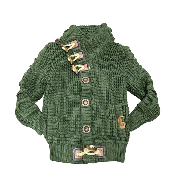 KIDS LCR SWEATER  OLIVE