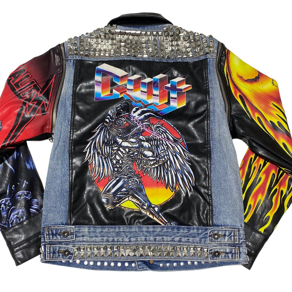 Cult Of Individuality Type IV Denim Jacket (Maiden) 620B8-TS12C