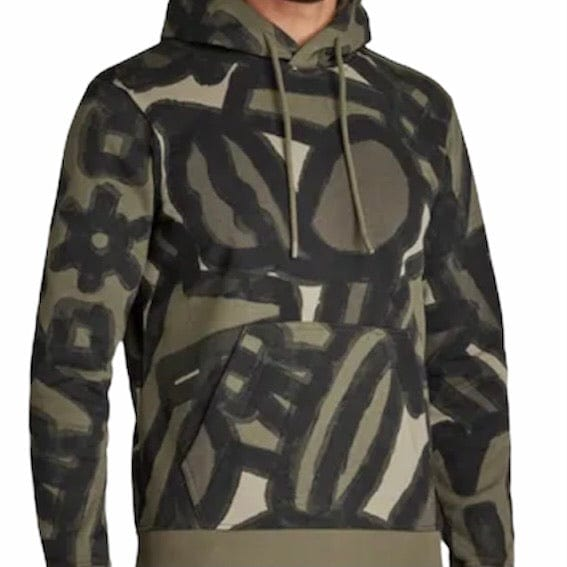 G-Star RAW Brush Stroke Allover Hooded Sweater (Camo)