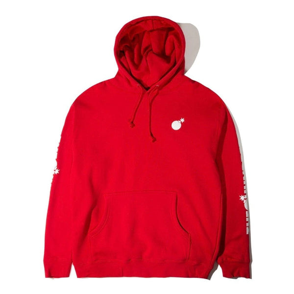 The Hundreds Solid Bomb Crest Pullover (Red)