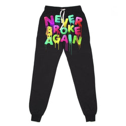 Never Broke Again Jogger Fall Drip Blk