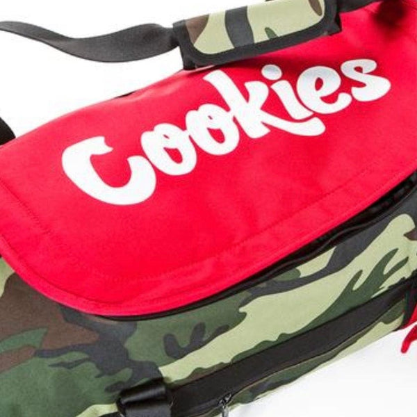 Cookies Parks Utility Duffel Bag (Olive Camo)