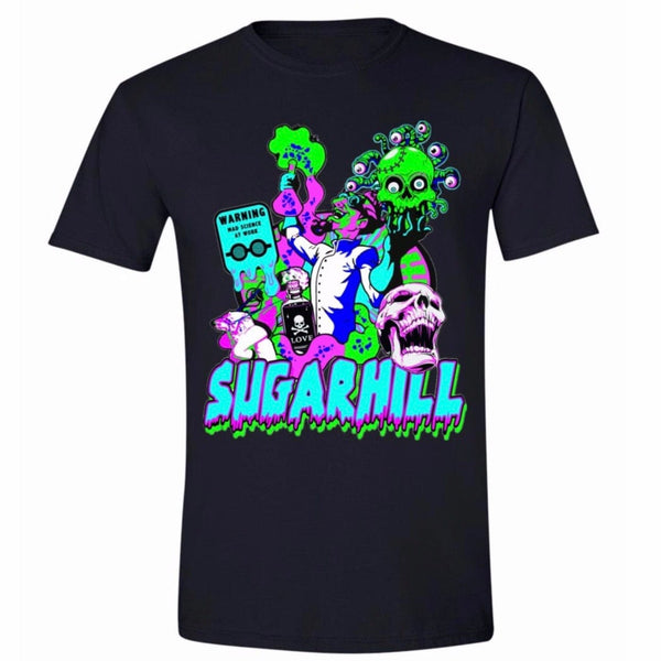 Sugar Hill Mad Scientist T Shirt (Black) SH-FALL20-45