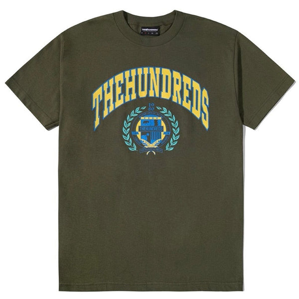 The Hundreds Alma T shirt Green
