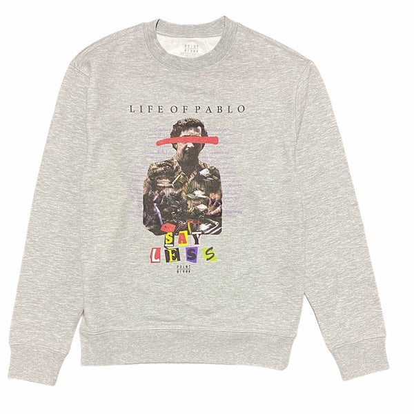 Point Blank Life of Pablo Crewneck Sweatshirt (Heather Grey)
