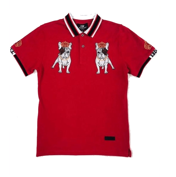 DAMATI POLO SHIRT - RED DMT-168