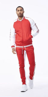JORDAN CRAIG TRACK JACKET RED 8330T