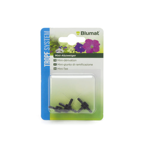 Blumat - Mini T Junctions - 3mm - 3 Pack  - Greenstone Dispensary NZ, Buy glass NZ, Vape Pens, Cannabis, Weed, Whakamana, 420 – 192 Princes St Dunedin, 03-742 1172