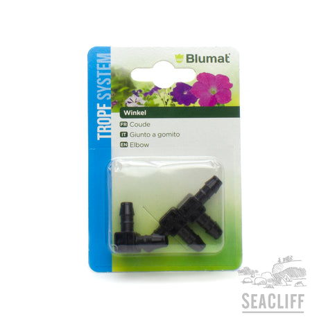 Tropf Blumat 8-8mm Elbow  - Seacliff Organics Living Soil Amendments New Zealand