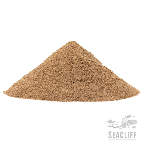 Flax Seed Meal - Seacliff Organics Living Soil Amendments New Zealand