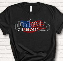 Load image into Gallery viewer, Charlotte USA - Unisex T-shirt