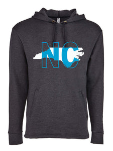 North Carolina - Fleece Hoodie - 7.4 oz.