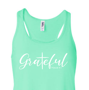 Grateful - Ladies Tank Top