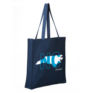 North Carolina - Canvas Tote