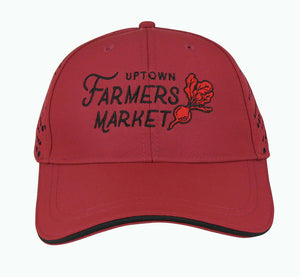 Hat - Uptown Farmers Market - Performance Cap