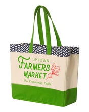Load image into Gallery viewer, Uptown Farmers Market - Tote Bag - Brookson Bay 16 Oz.