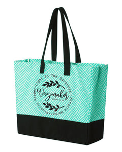 Waymaker -  Large Beach Tote