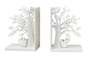 SMARTSCENTS STICK HOLDER WHITE WOODLAND BOOKENDS