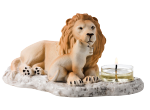 NATURES WONDERS LIONS PRIDE TEALIGHT HOLDER